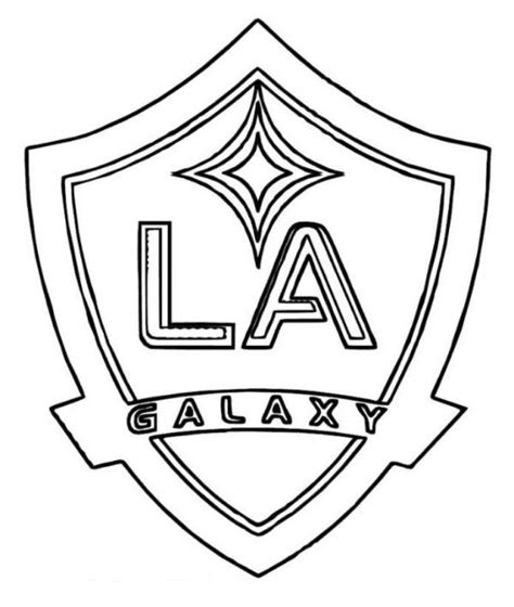 la galaxy colors la galaxy logo soccer coloring pages the only sport i ve