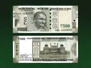 India New 500 and 2000 Rupee Notes