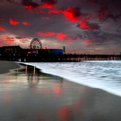 santa monica hd wallpaper wallpapersafari