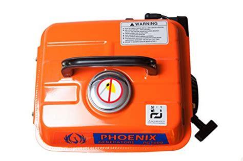 phoenix generators pg gasoline generator  watt