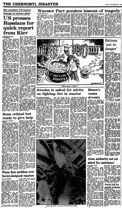 British Newspaper Articles And Political Cartoon From The