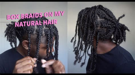 twists  box braids mens natural hair protective