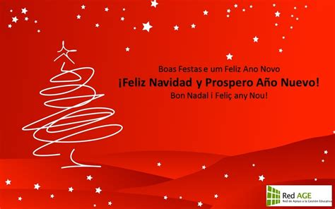 felices fiestas red age