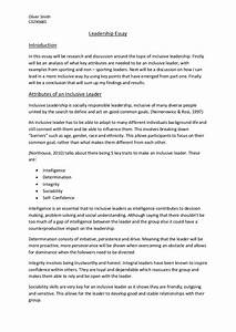 Essay About Leadership Qualities Gmat Essay Writing Articles About  Short Essay About Leadership Qualities Examples Satire Essay On Obesity