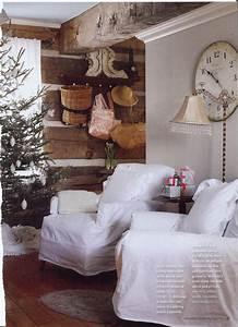 Was Ist Shabby Chic : a country christmas decor ideas ~ Orissabook.com Haus und Dekorationen