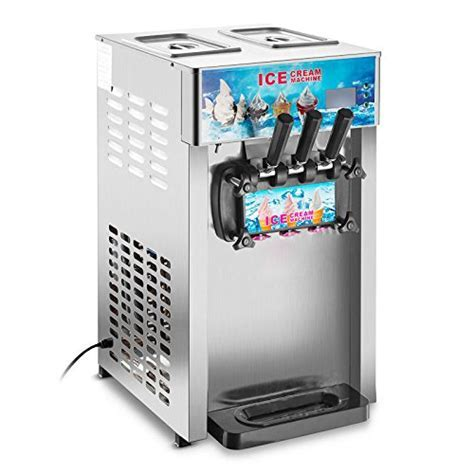 3 Flavors Soft Ice Cream Machine Commercial Frozen Ice