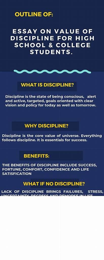 Discipline Essay Students Importance College Schools Value