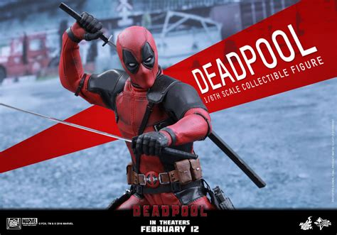 Hot Toys Deadpool Sixth Scale Figure Up For Order