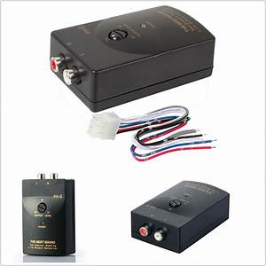 Car Audio Rca Speaker High To Low Level Line Output