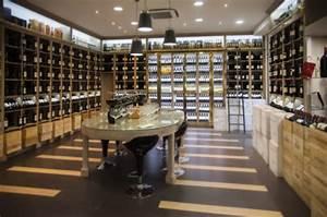 Agencement Cave A Vin : exemple de r alisation de magasin de vin en led enw ~ Premium-room.com Idées de Décoration