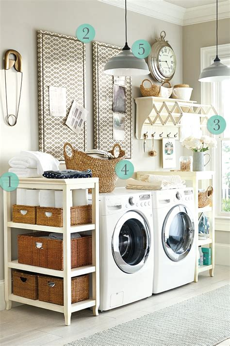 Decorating Ideas For Small Laundry Room by 5 Laundry Room Decorating Ideas How To Decorate