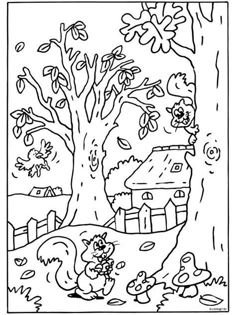 Herfst Kleurplaat Bovenbouw by Kleurplaat Bovenbouw