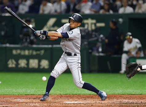 Ichiro Suzuki Number by Ichiro Suzuki Gets The Start In What Could Be His Last Mlb