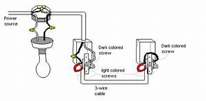 handymanwire wiring a 3 way or 4 way switch With 3 way switch hot