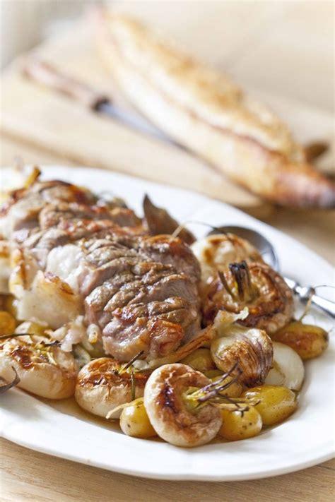 comment cuisiner des navets nouveaux rôti de porc aux navets nouveaux et pommes de terre