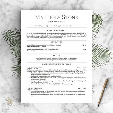 basic resume templates 15 exles to use now