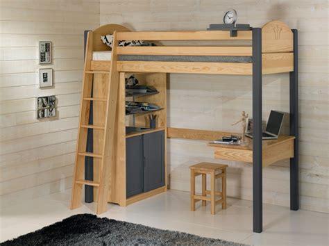 lit bureau mezzanine lit mezzanine avec bureau dcopin secret de chambre