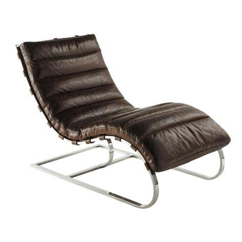 fauteuil de bureau cuir blanc fauteuil en cuir marron freud maisons du monde