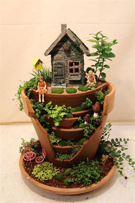 ideas  cute  whimsical fairy garden ideas