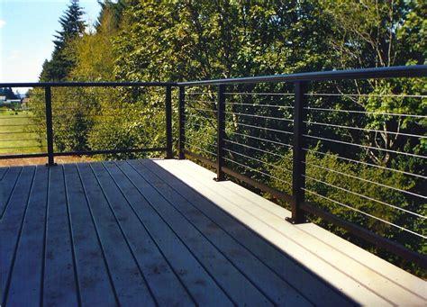 stainless steel deck railings illbedead