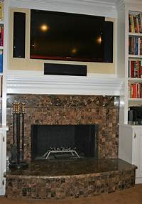 stone tile fireplace designs Marble fireplace surround ideas - bring a warm ...