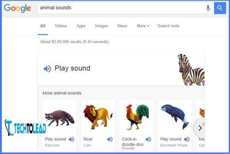 play animal sounds  google search techtoleadcom