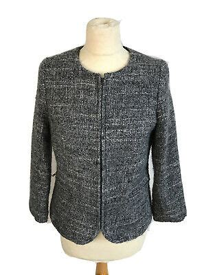 austin reed womens wool alpaca blend blazer size uk
