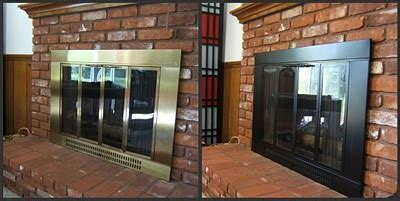 Fireplace Door Paint - 7 things you never thought you could spray paint the