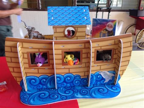 Noah S Ark Decorations - noah s ark centerpiece from trading fill with