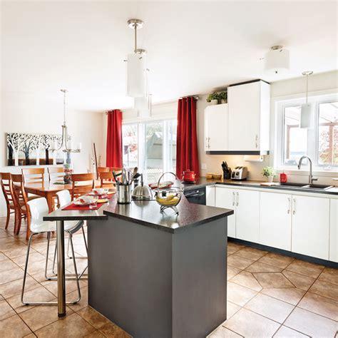 cuisine et comptoir un comptoir revu et corrigé pour la cuisine cuisine