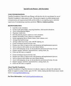 Event planner jobs driverlayer search engine for Events manager job description template