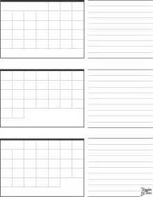 2017 3 Month Calendar Template Printable