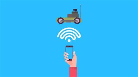 smartphone control robotics  arduino  android