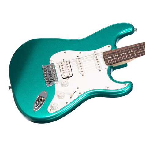 Squier Affinity Series Stratocaster Hss Race Green Fender