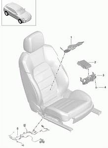 Porsche Macan Support Seating Position Control Seat