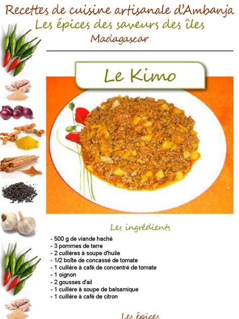 la cuisine artisanale brugheas la tribune de diego recette de cuisine artisanale d 39 ambanja kimo