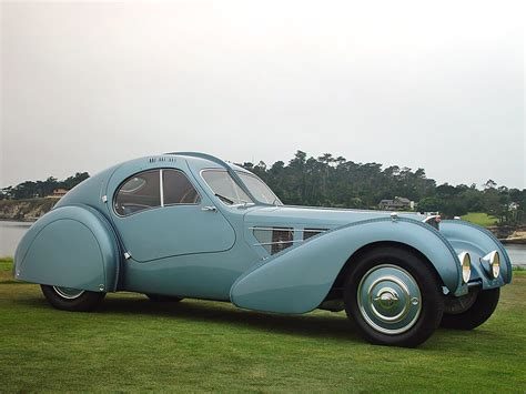 The type 57sc chassis was the combination of the supercharged 57c engine with the low and short the 75 year history of each bugatti atlantic is entertaining conjecture for any bugatti enthusiast. Bugatti 57SC Atlantic - record de preţ - Promotor