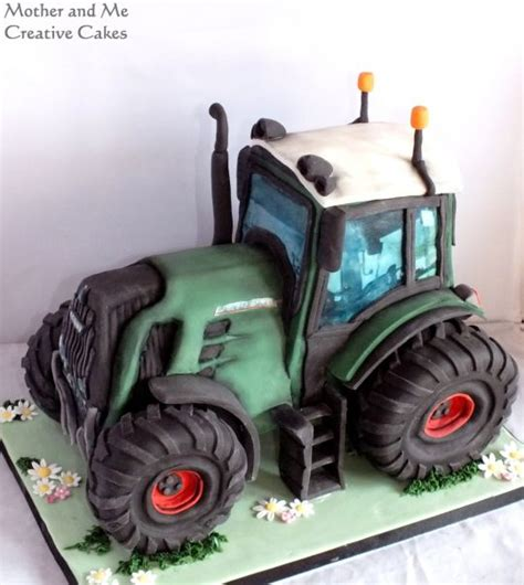 fendt tractor cake  mother   creative cakes