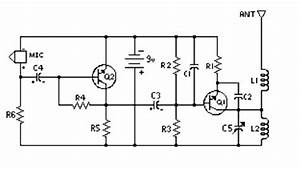 easy build fm transmitter circuit schematic With easy fm transmitter