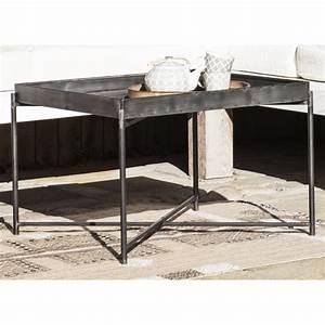 Table Basse Boheme : table basse carree metal style industriel boheme ib laursen 3143 25 ~ Teatrodelosmanantiales.com Idées de Décoration
