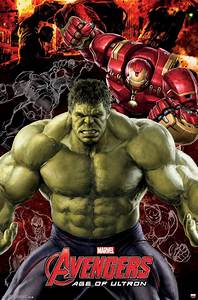 Marvel Avengers Age of Ultron Hulk Poster