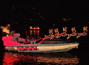Boat Lights In Kemah by Pictures Of The 44th Annual Boat Parade From