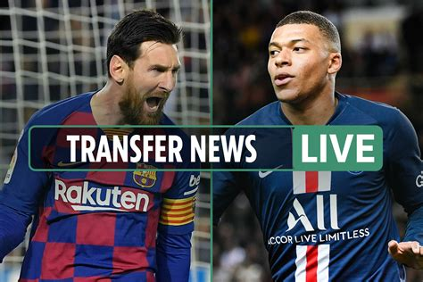 Transfer News LIVE: Lionel Messi wanted through Inter ...