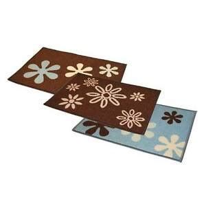 Funky Doormat by Machine Washable Funky Flowers Doormat Floor Door Mat 40