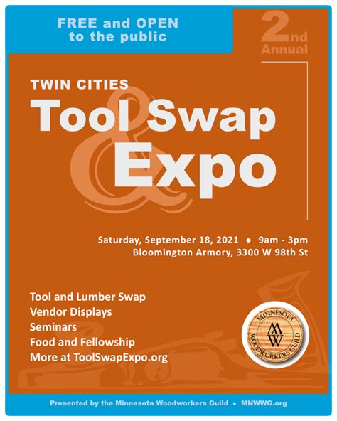 twin cities tools swap  expo presented   mn