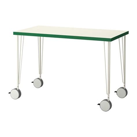 Ikea Desk Legs With Casters by Linnmon Krille Tes Tables And Places