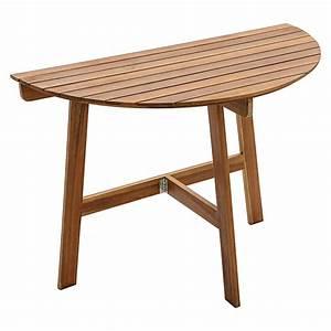 Tisch Klappbar Holz : sunfun diana balkontisch 100 x 50 cm holz bauhaus ~ A.2002-acura-tl-radio.info Haus und Dekorationen