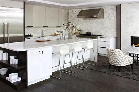 kitchen backsplash styles marble herringbone backsplash contemporary kitchen 2255