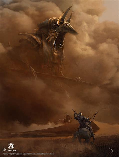 Assassins Creed Origins Concept Art By Martin