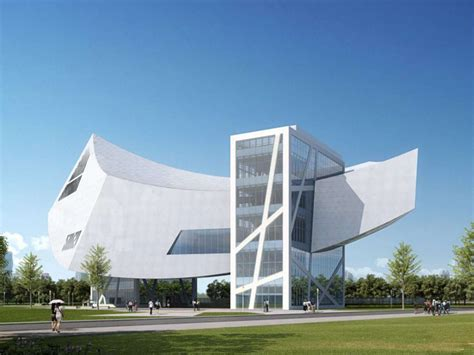 modern museum in zhang zhidong and modern industrial museum by daniel libeskind